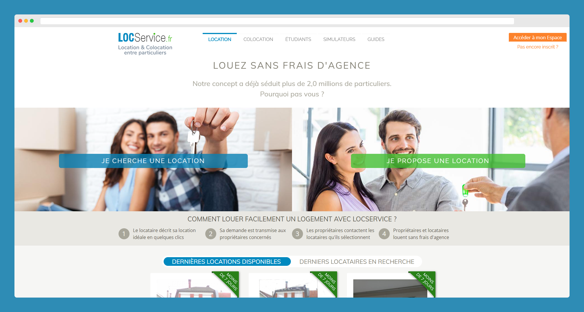 locservice colocation