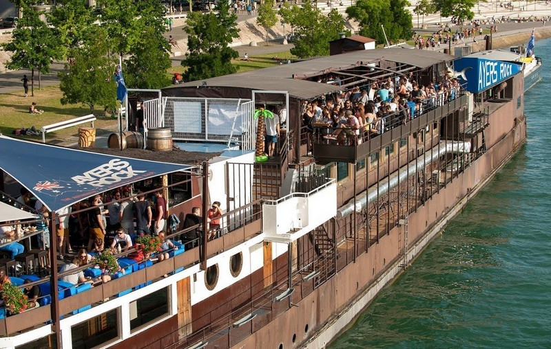 The 6 best barges in Lyon!